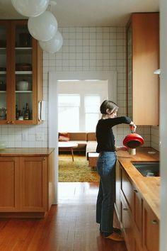 Home Interior Design, Interior Architecture, Mid-century Interior, Interior Plants, Bathroom Interior, Modern Bathroom, Bathroom Ideas, Sweet Home, Traditional House