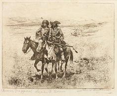 Western Art : Edward Borein Cowboy Artist Western Artist