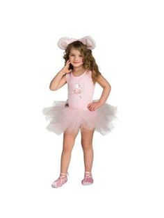 Angelina Ballerina Costume - Toddler 3-4T