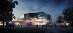Gallery of Space Group Completes Lexington Master Plan - 11 Kentucky Sports, Kentucky Basketball, Basketball Tickets, Uk Basketball, Basketball Practice, Space Group, Exterior Rendering, Mir Rendering, University Of Kentucky