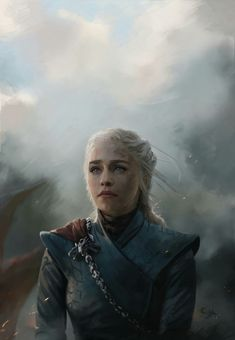 """Game of Thrones - Daenerys Targaryen """"Queen of the Ashes"""" by SpiritHide on DeviantArt Daenerys Targaryen Art, Emilia Clarke Daenerys Targaryen, Game Of Throne Daenerys, Khaleesi, Arte Game Of Thrones, Game Of Thrones Poster, Game Of Thrones Quotes, Winter Is Here, Winter Is Coming"""