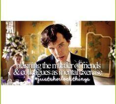 - Just Sherlock Things -