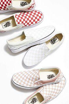 c8cd89534ed Vans Classic Checkered Slip On Vans Slip On Checkered