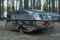 Very cool classic travel trailer