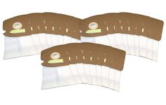 27 Eureka Vacuum Bags Style MM for Mighty Might Vacuums Part #60295, 60296 & 60297 HEPA Crucial Closure for Allergen Filtration
