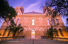 Old Main at Dusk | San Marcos, TX