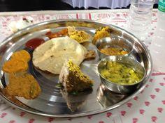 Rajasthani Thali at an invite