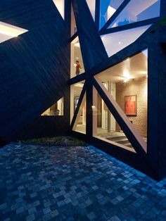 amsterdam skylight house by dutch architects ooze.