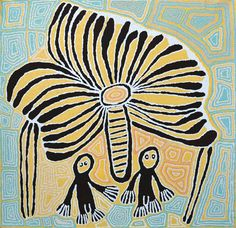 Exhibition: 'The Witch Doctor and the Windmill'   Linda Syddick Napaltjarri