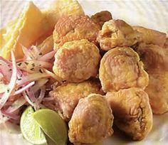 recetas chicharones de pescado