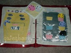 blog entirely devoted to busy book making