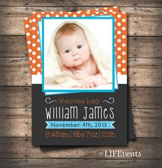 Hey, I found this really awesome Etsy listing at http://www.etsy.com/listing/169594936/yellow-blue-baby-boy-birth-announcement