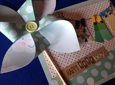 card happy baby boy