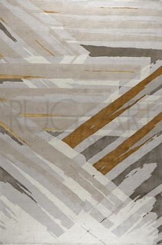 Influenced by modern Art Deco visual arts, my latest carpet design Omni is bold in presense with a lavish use of silk, yet very elegant in its subtle color combination. Hand knotted in Tibetan wool and silk. @rugartny