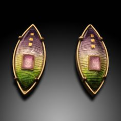 Artners Gallery - Sunrise Earrings, $820.00 (http://www.artnersgallery.com/sunrise-earrings/)