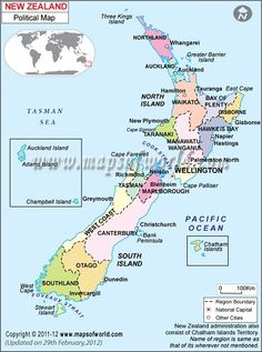 Australia Map Map Of Oceania South Pacific Map New Zealand Map - Political map of oceania