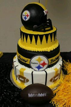 Pittsburgh Steelers~Steelers cake