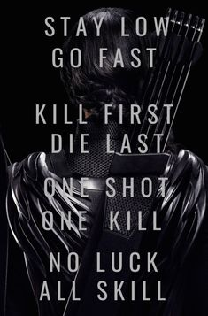 This is about the best advice you could get for surviving the hunger games Divergent Hunger Games, Hunger Games Memes, Hunger Games Fandom, Hunger Games Trilogy, Hunger Games Book, Hunger Game Quotes, Fandom Quotes, Katniss Everdeen, Mockingjay