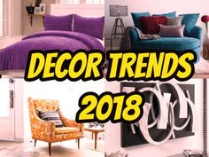 Home decor trends to look forward to in 2018...