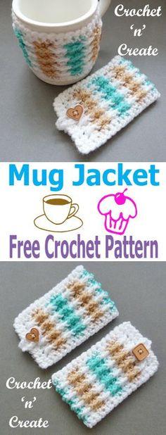 9d3f0c12301 406 Best Crochet Cup Cozies Can Koozies images