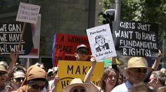 Avant la «Marche des femmes» à Washington, les manifestations anti-Trump ont commencé