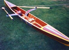 I have always wanted my own row shell for Sculling and at a price tag of 5k for a modern shell that is out of my price range.  How cool would it be to build my own!