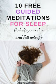 for sleep - 10 free guided meditations Do you need some help with sleep? Check out these free guided meditations for sleep! Do you need some help with sleep? Check out these free guided meditations for sleep! Guided Meditation For Sleep, Healing Meditation, Daily Meditation, Meditation Music, Mindfulness Meditation, Meditation Benefits, Meditation Quotes, Meditation Space, Mindfulness Exercises