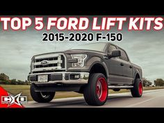 (10) Top 5 Lift Kits For 2015-2020 Ford F-150s - YouTube Diesel Pickup Trucks, Lift Kits, 10 Top, Ford, Videos, Youtube, Youtubers, Youtube Movies