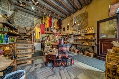 Krambude Shop in Tallinn, Estonia. Google Indoor Street View. Nordic360. Crafts. Old Town. Medieval. Photography.