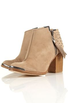 PSYCHIC3 Studded Ankle Boots - StyleSays