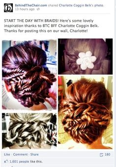 "I know this is an updo [or technically a low-do], but it is a good example of how to incorporate ""fishtail"" braids into a style. Twist Hairstyles, Pretty Hairstyles, Wedding Hairstyles, Fishtail Braids, Braided Updo, Low Updo, Types Of Braids, Thing 1, Fish Tail"