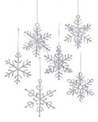How to Make Royal Icing Snowflakes  (I want to try this using salt clay)