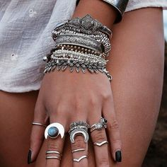 shopdixi:∘✽∘ Shop the Warrior collection for beautiful treasures to inspire you! ∘✽∘ Over 70 styles have been added to the new collection- Shop now at ↠↠ www.shopdixi.com ↞↞ #shopdixi #boho #bohemian #hippie #jewelry #jewellery #rings #crescentmoon #gypsy #gyspet #armcandy #grunge