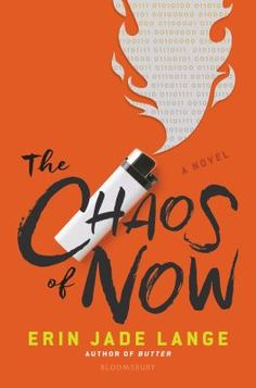 The Chaos of Now by Erin Jade Lange Book Cover Design Best Book Covers, Beautiful Book Covers, Book Cover Art, Book Cover Design, Book Art, Poster Design, Graphic Design Branding, Print Design, Typography Design