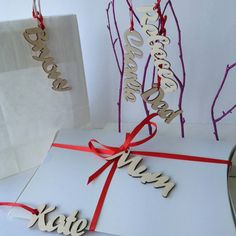 Gift tags. Not on the highstreet