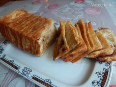 Škoricový trhanec (fotorecept) - recept   Varecha.sk Crackers, Bread Recipes, Sweet Recipes, Banana Bread, Hamburger, French Toast, Pizza, Sweets, Baking