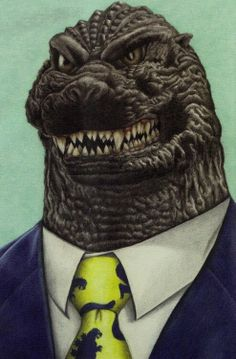 Respectable Godzilla