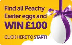 Peachy Easter Egg Hunt!