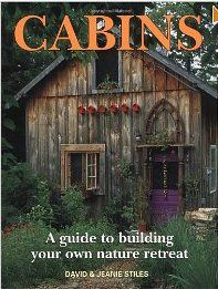 Cabins : a guide to building your own nature retreat by David & Jeanie Stiles Build A Frame, A Frame Cabin, A Frame Homes, Cabin Design, Rustic Design, Stiles, Build Your Own Cabin, Ideas De Cabina, Pole Buildings