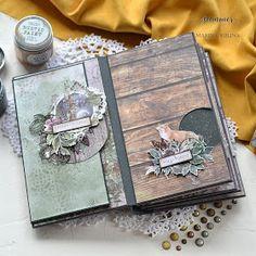 Wild Forest, Art Journals, Junk Journal, Mini Albums, Decorative Boxes, Rustic, Painting, Scrapbooking, Studio