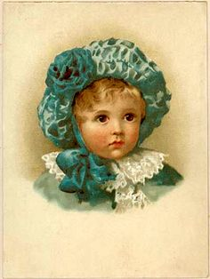 PostCard Vintage Little Boy Blue