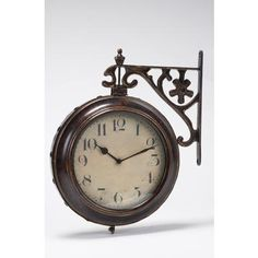 Two sided clock... that works.