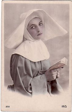 c. 1910 beautiful nun by rosewithoutathorn84, via Flickr