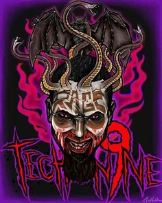 Sick. Tech n9ne I like this picture a lot. Especially since they have the Strange Music symbol incorporated in it.,