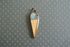 one scoop or two pendant by jadescott on Etsy