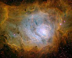 Nebulosa da Lagoa, M8 ou NGC 6523