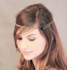 Janane Boudili porte le headband bijou argent New Babylone