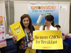 Check out some photos from the Natural Products Expo in Baltimore this past weekend! If you didn't attend, join us in asking Cheerios to remove GMOs from their products here: https://www.facebook.com/GmoInside