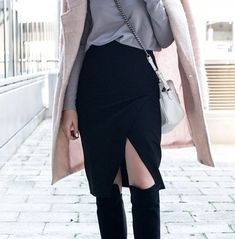 50 Awesome Outfit Ideas To Get You Through the Rest of Winter via @WhoWhatWear