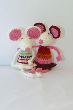 Ravelry: pukpuk's amigurumi mice based off of Pita Mouse pattern
